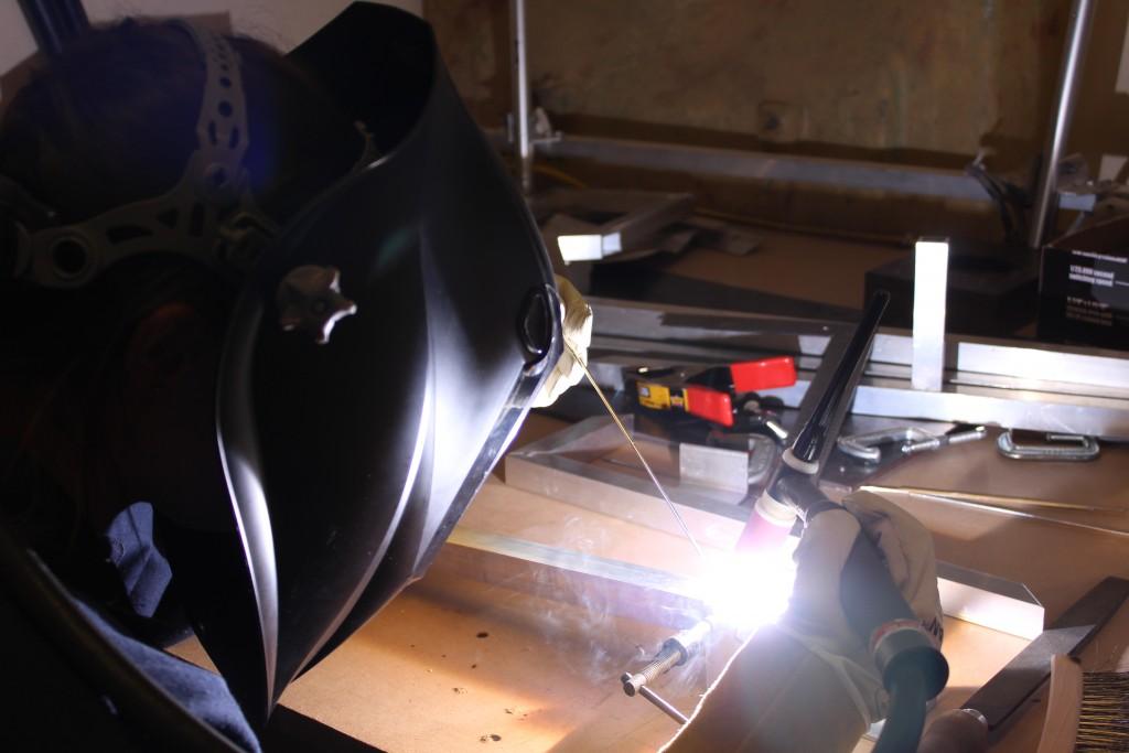 Team 1720 welding